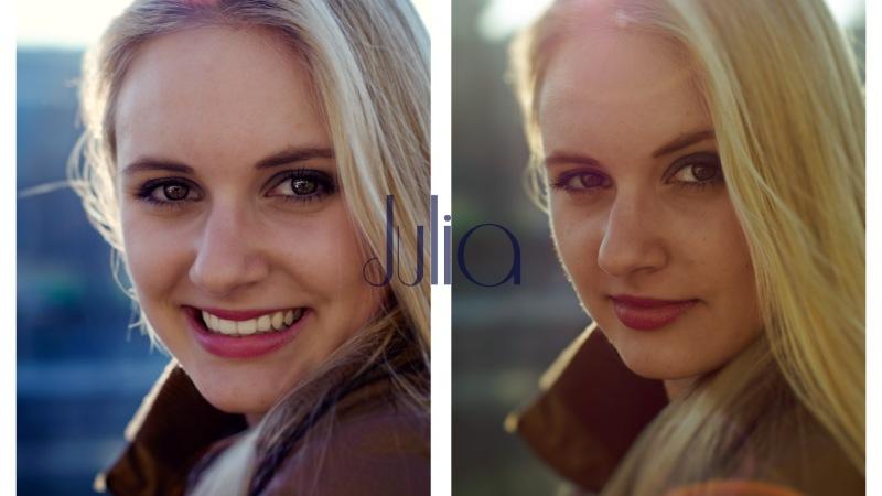 Julia-Sophie: 3 Portäts – 3Styles